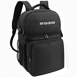 NORTHERN BROTHERS Backpack Cooler - Insulated Cooler Backpack Leakproof Lunch Backpack Cooler Backpack Coolers Insulated Leak Proof Men Women to Beach Hiking Picnics Lunches Park Day Trips