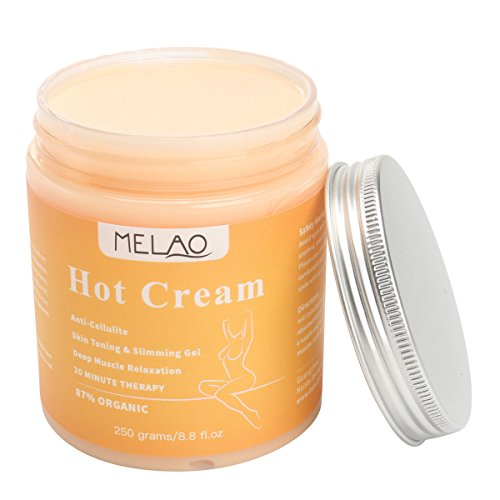 MELAO 250g Anti Cellulite Hot Cream Slimming-Deep Muscle Relaxation Body...