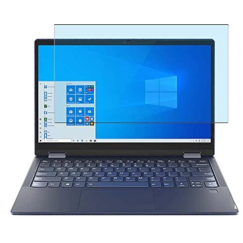 Vaxson Protector de Pantalla de Cristal Templado Anti Luz Azul, compatible con Lenovo Yoga 6 2 in 1 13.3' [solo área activa] 9H Película Protectora