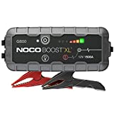 NOCO Boost XL GB50, 12V 1500A Booster Batterie Voiture, UltraSafe Lithium Jump Starter, et Pack de Démarrage Voiture pour Moteurs Essence Jusqu'à 7-Litres et Moteurs Diesel Jusqu'à 4-Litres