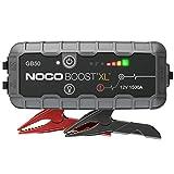NOCO Boost XL GB50, Arrancador de Batería UltraSafe 1500A 12V, Cargador de Booster Profesional y Cables de Arranque de Coche por Gasolina de hasta 7 Litros y Motores de Diésel de hasta 4 Litros