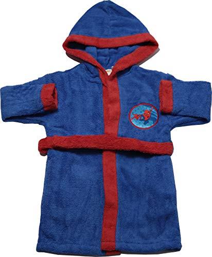 Disney badjas van puur katoen, zeer absorberend, motief Spiderman