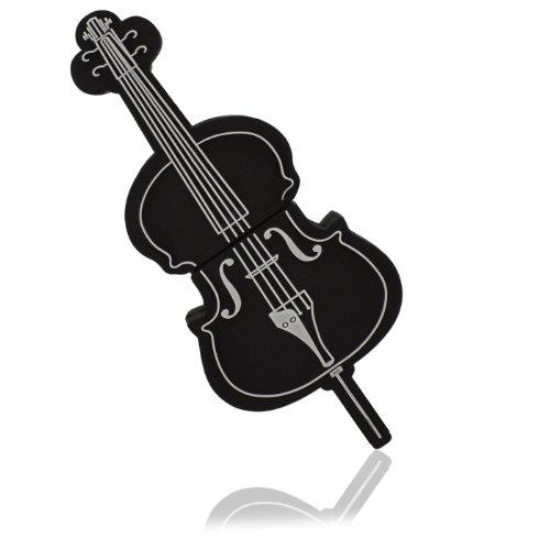 818-shop no16300020016 USB PenDrive (16 GB) strumento musicale violino violoncello nero