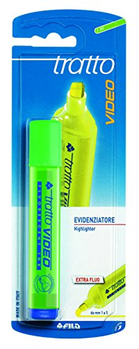 Tratto-Pennarello fluorescente verde
