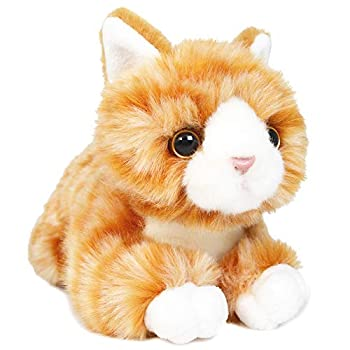 Orville The Orange Tabby Cat - 8 Inch Stuffed Animal Plush - by Tiger Tale Toys