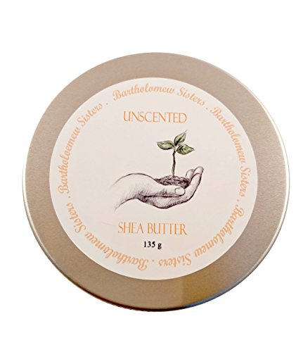 Handmade Unscented Grade A Shea Butter Vegan Body Butter