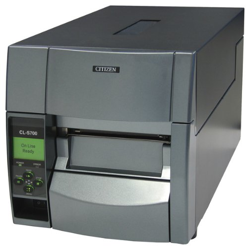 Citizen cl-s700dt Thermodirekt 203x 203DPI Drucker für Etiketten–Drucker für Etiketten (Thermodirekt, 203x 203DPI, 175mm/Sek, 10,4cm, ZPL II, LCD)