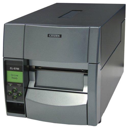 Citizen CL-S700DT Thermique directe 203 x 203DPI imprimante pour étiquettes - Imprimantes pour étiquettes (Thermique directe, 203 x 203 DPI, 175 mm/Sec, 10,4 cm, ZPL II, LCD)