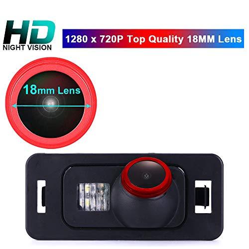 1280*720 Pixel 1000TV Linien HD Objektiv 170°Super Weitwinkel Rückfahrkamera Wasserdicht Nachtsicht für BMW 1 3 5 X Series E90/E90N/E91/E92/E93/M3/CSL E82 E39/E60/E60N/E61/E61N E53/E70/E71/X5/X6