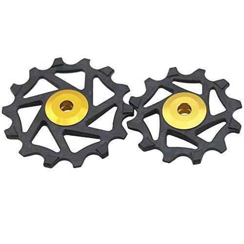 alsu3luy02Ld 12T 14T Rueda de cambio de rueda de cerámica para Shimano...
