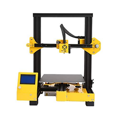 Imprimante DIY3D, Éducation Famille Niveau Bureau Petit Taille d'impression 220 * 220 * 250mm Imprimante, FDM