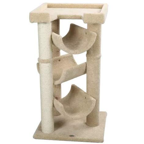 "Mix.Home Cat Tree Scratcher, 40"" H. Best Choice for Your Pets. Kitty Posts. Cat's Stands. Best Cat Bed & Trees & Condos. Pet's Playground."