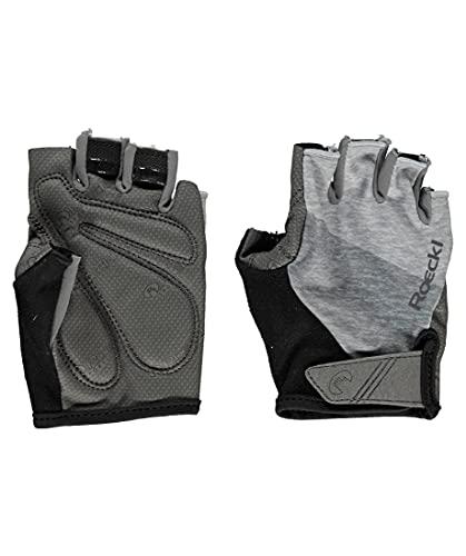 Roeckl Bergen Fahrrad Handschuhe kurz grau 2020: Größe: 11