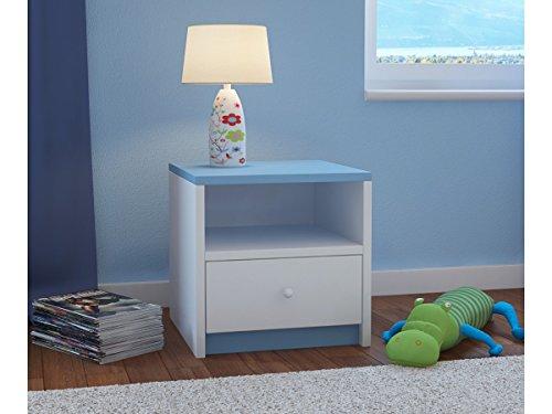 Children's Beds Home Kinder Nachttisch Babydreams für Kinder, Kinder, Junior (Blau, 40x40x30)