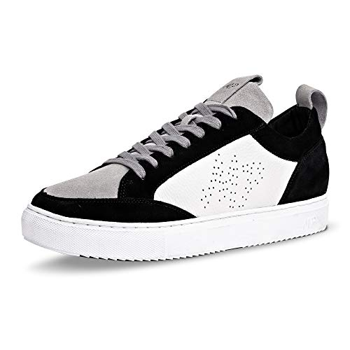 MAXIM PARDI Verona Low Top Leather Sneakers. Fashion Sneakers, Lightweight Classic Causal Shoes, Men and Women (Classic, Numeric_10)