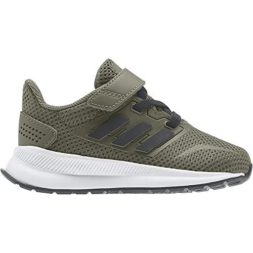 adidas Runfalcon, Road Running Shoe Unisex bebé, Caqpur Negbás Ftwbla, 26 EU