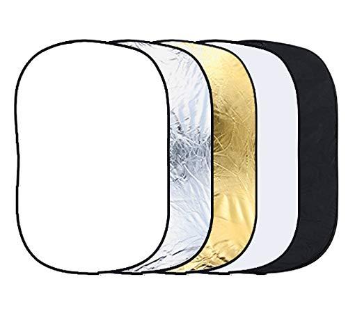Andoer 24 x 36 pouces 5 en 1 Portable photographie Studio Multi Photo pliable lumière réflecteur 60 x 90 cm