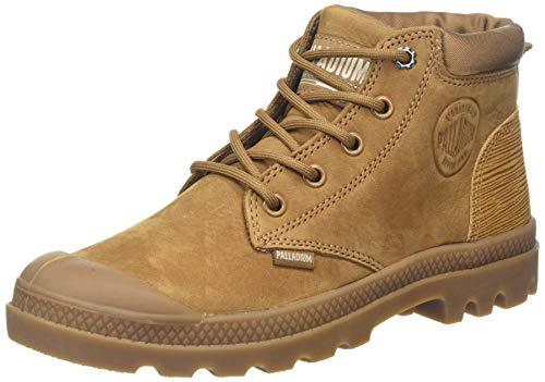 Palladium Pampa Lo Cuff Lea, Stiefel & Stiefel, weich, Braun - Mahogany 819 braun - Größe: 38 EU