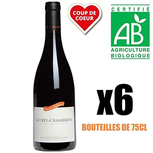 X6 David Duband 2014 AOC Gevrey-Chambertin Vino Tinto Bourgogne