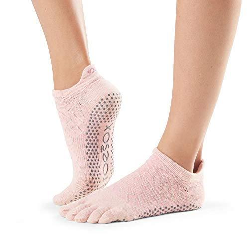 ToeSox Women's Low Rise Full Toe Socks
