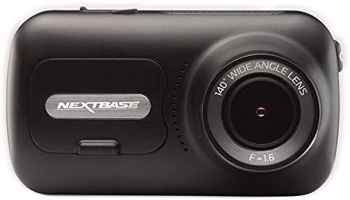 "Nextbase 322GW Dash Cam 2.5"" HD 1080p Touch Screen Car Dashboard Camera, Quicklink WiFi, GPS, Emergency SOS, Wireless, Black"