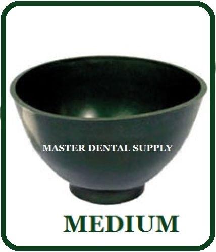 Dental Lab Mixing Bowl Flexible Alginate and Stone Medium Dark Green Flexi
