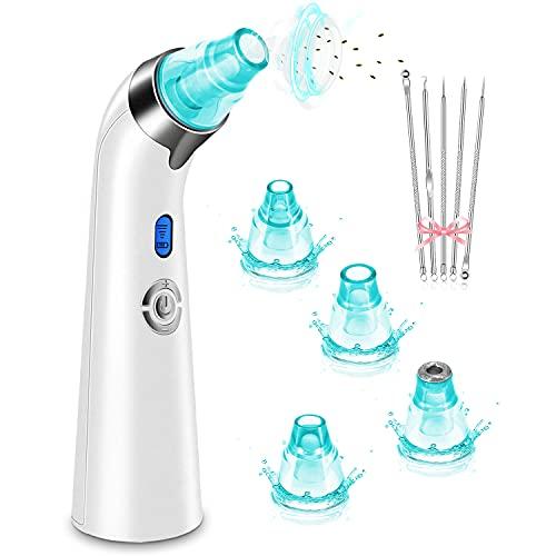 Blackhead Remover Vacuum, Pore Suction Facial Skin...