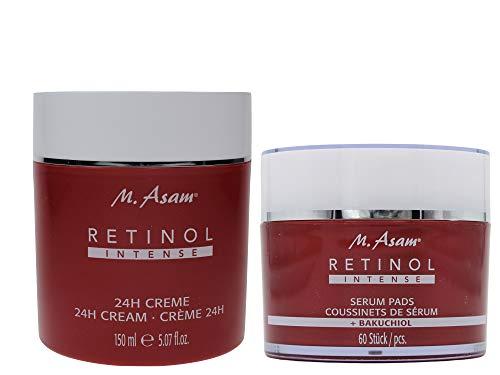 M. Asam Retinol Intense Serum 60 Pads + 24H Creme 150ml