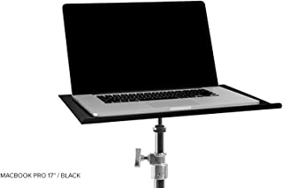 """Tether Tools Table Aero MacBook Pro 17"""" (45cm x 30cm) - BLK Stant, Siyah"""