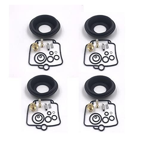 LMMY Adatto for GSF1200S. Bandit 1997-2000. GSF 1200 GSF1200 S Diaframma di stantuffo del Kit di Riparazione del carburatore del Motociclo (Color : Black Gold)