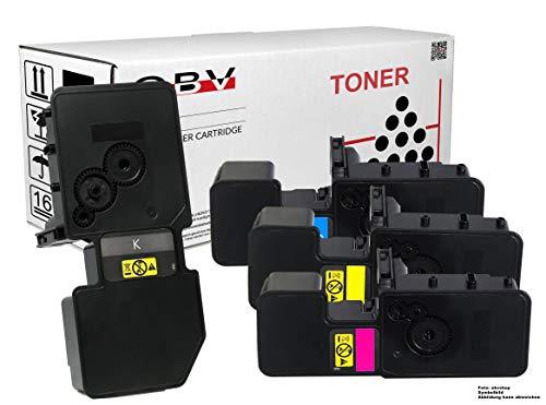 4x kompatibler Toner ersetzt TK-5240 für Kyocera ECOSYS M5526cdn M5526cdw P5026cdn P5026cdw schwarz, cyan, magenta, gelb
