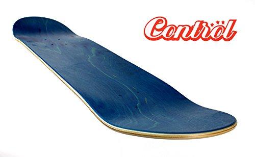 """Control premium Blank Skateboard Deck, Low Concave, von 7.5\"""" bis 8.5\"""" (7.50)"""