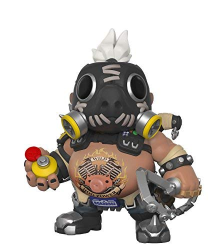 Funko 29046 S3 Actionfigur Overwatch-6 Zoll Roadhog, Multi