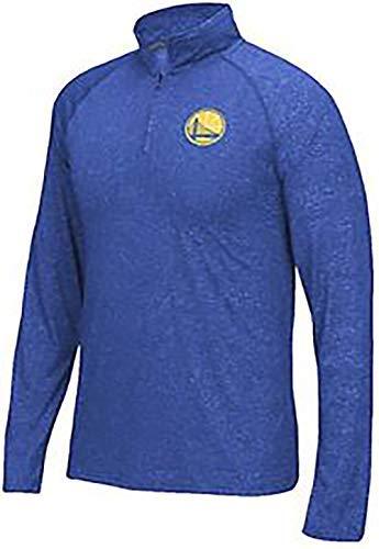 adidas Golden State Warriors - Camiseta para Hombre (Cremallera 1/4), Color Azul - Azul - X-Large