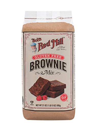 Bob#039s Red Mill Brownie Mix Gluten Free 21Ounce Pack of 2