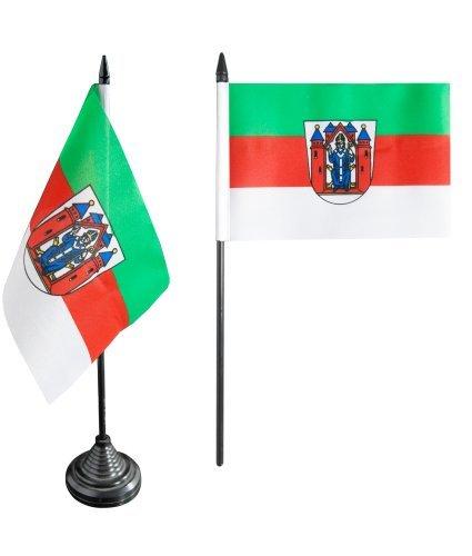 Flaggenfritze® Tischflagge Deutschland Stadt Aschaffenburg - 10 x 15 cm