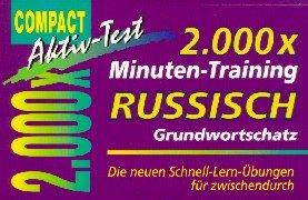 2000 x Minuten-Training, Russisch Grundwortschatz (Compact Aktiv-Test)