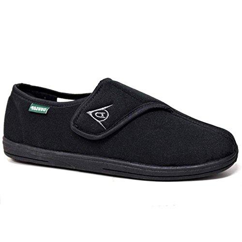 Zapatillas de casa para hombre, de la marca Dunlop, color Negro, talla 43 EU