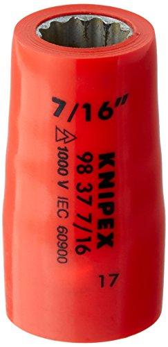 KNIPEX Douille (douze pans) avec carré femelle 3/8\