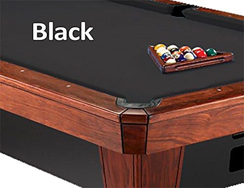 8'Simonis 860 für Pool-Tuch, Schwarz