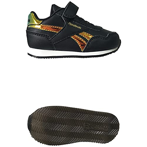Reebok Royal CLJOG 3.0 1V, Zapatillas de Running Mujer, NEGBÁS/NEGBÁS/Dormet, 38.5 EU