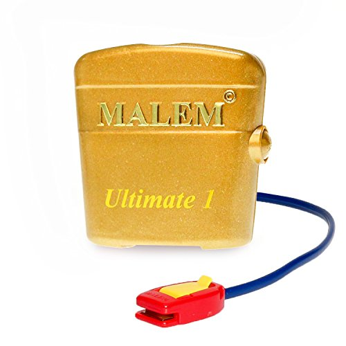bedwetting alarms Malem Ultimate PRO 8 Tone Gold Bedwetting Alarm with Loud Sound and Strong Vibration
