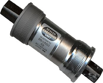 Shimano Eje Pedalier compacto 68/115 mm BB de un 53 BSA de 4 ...