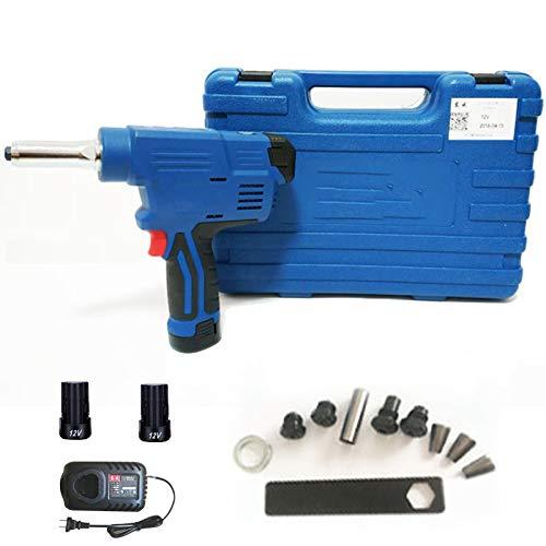 Pistola remachadora eléctrica de 600 vatios,pistola remachadora de extracción de núcleos, recargable,pistola...