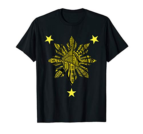 Filipino Heritage T Shirt - Polynesian Tribal Tattoo Shirt