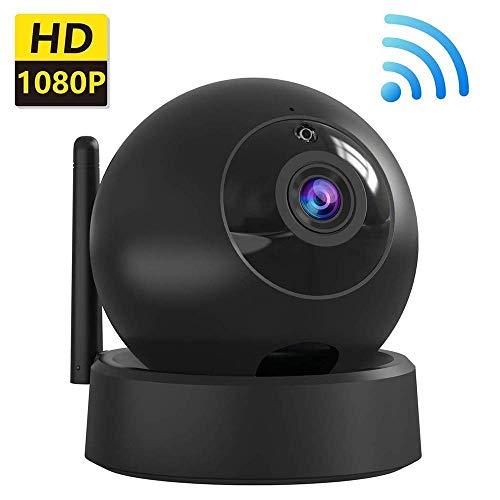 GWJNB Indoor Security Camera, Draadloze 1080P Home Camera, Wifi Home Surveillance IP Camera Voor Baby/Oudere/Huisdier/Nanny Monitor, Pan/Tilt, Twee-weg Audio & Nachtzicht