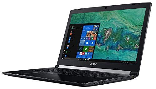 "Acer Aspire 5 A517-51G-87WW Noir Ordinateur Portable 43,9 cm (17.3"") 1920 x 1080 Pixels Intel® Core i7 de 8e génération i7-8550U 8 Go DDR4-SDRAM 1512 Go HDD+SSD Aspire 5 A517-51G-87WW,"