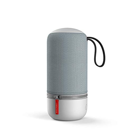 Libratone ZIPP MINI 2 Smart Wireless kleiner Lautsprecher (Alexa Integration, AirPlay 2, MultiRoom, 360° Sound, Wlan, Bluetooth, Spotify Connect, 12 Std. Akku) frosty grey