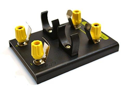 Soporte de batería 'D' para 2 baterías con enchufes banana de 4 mm - Alternativa de fuente de alimentación CC - RoHS