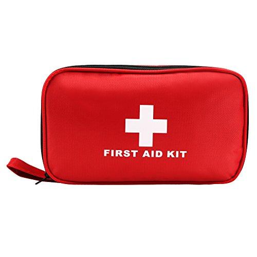 LEADSTAR Erste Hilfe Set, Verbandtasche Erste Hilfe Kasten mit Kühlakkus, Augenspülung und Rettungsdecke für Auto, zu Hause, im Büro oder auf Reisen (180 Stück)